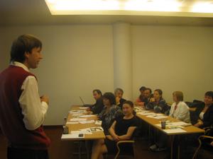Tallin, Estonia, 13.09.2010. Vizită de studiu a membrilor Consiliului de Presă din R. Moldova